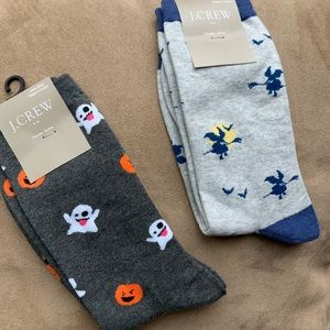 J. Crew Factory 2 Pair Halloween 🎃 Sock Bundle
